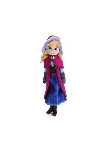 Disney Lisanslı - Disney'in Koca Gözlü Karlar Ülkesi Güzeli Frozen ANNA Renkli